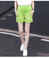Maternity Shorts - Green Shorts Cool