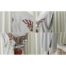 Maternity Dress - Eagle Grey
