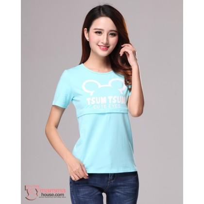 Nursing Tops - Tsum Light Blue