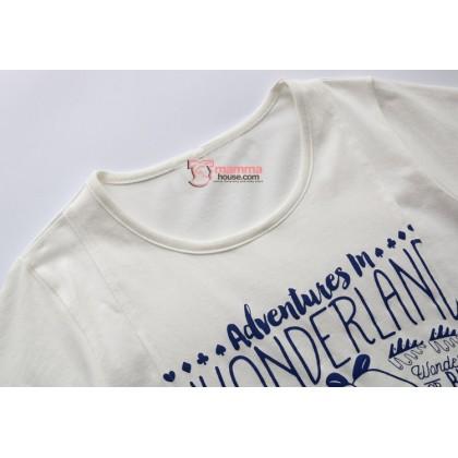 Nursing Tops - KR Wonderland White