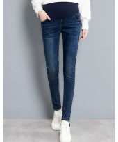 Maternity Jeans - Dark Blue Simple