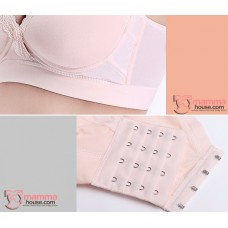 X Nursing Bra - Mid Button 2pcs Set (random color)