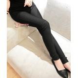 Maternity Pants - Working Slim Bevel Black