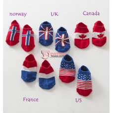 Baby Socks - Korean Boat Flag