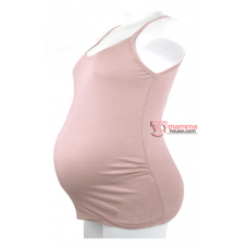 Maternity Singlet - Sugar Light Pink