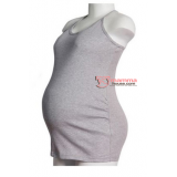 Maternity Singlet - Sugar Grey