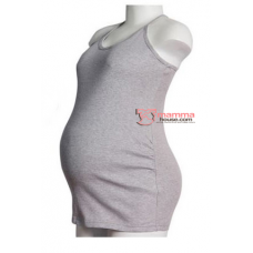 Maternity Singlet - Sugar Grey
