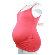 Maternity Singlet - Sugar Red