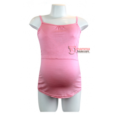 Nursing Singlet - Flexi Shine Pink
