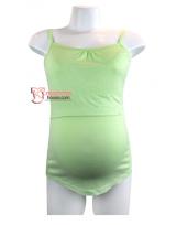 Nursing Singlet - Flexi Green