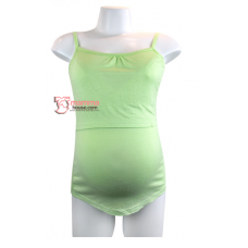 Nursing Singlet - Flexi Green