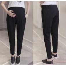 Maternity Pants - Working Straight Black (S,M~XXL)