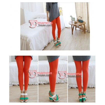 Maternity Legging - Long Support Orange