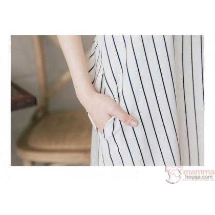 Nursing Set - Vert 07 Dress (plus baby romper)