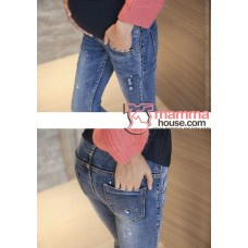 Maternity Jeans - Starry Blue