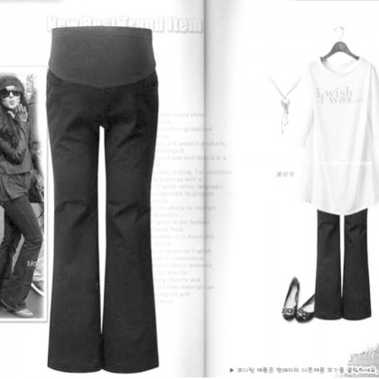 Maternity Pants - Working Trumpet Dark GREY