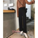 Maternity Pants - Working Cotton Wide Black