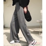 Maternity Pants - Working Cotton Wide Dark Grey