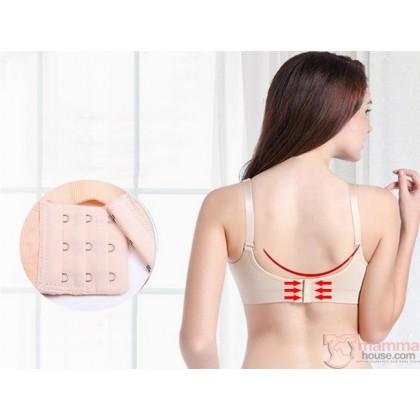 T Nursing Bra - Seamless PINK Hands Free