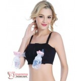T Nursing Bra - Hands Free Black