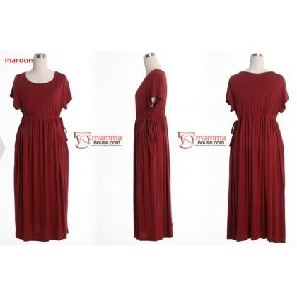 Nursing Dress - Long Ribbon (4 colors)