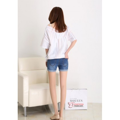 Maternity Shorts - Swan Jeans