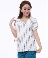 Nursing Tops - Polka Smooth (Pink or White)