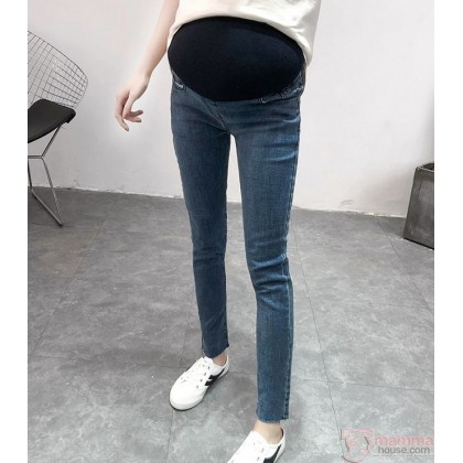 Maternity Jeans - Jazz Blue