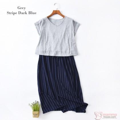 Nursing Dress - JP Long Join Dress