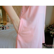 Mamma Pajamas - Dress Love Pink