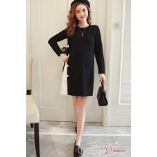 Maternity Blouse - Long Stylish Black