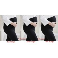 Maternity Legging - Line Long Grey Light