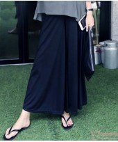 Maternity Long Pants - Trumpet Cotton Black
