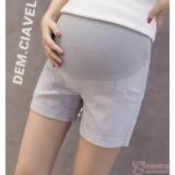 Maternity Shorts - Fold Simple Grey