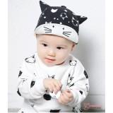 Baby Cap - Kitten Black