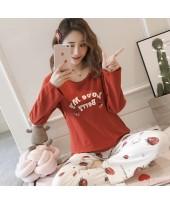 Mamma Pajamas - Long My Berry Orange Red