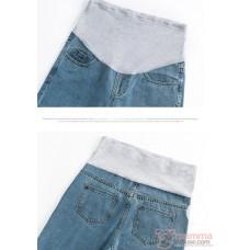 Maternity Jeans - Straight Style Light Blue
