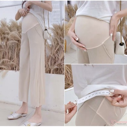 Maternity Pants - Chiffon Black or Beige