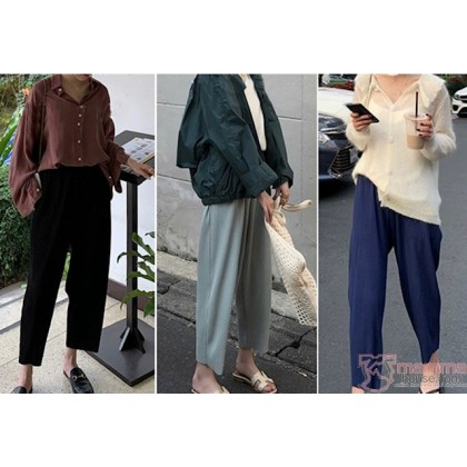 Maternity Pants - Soft Chiffon Pants (3 colors)