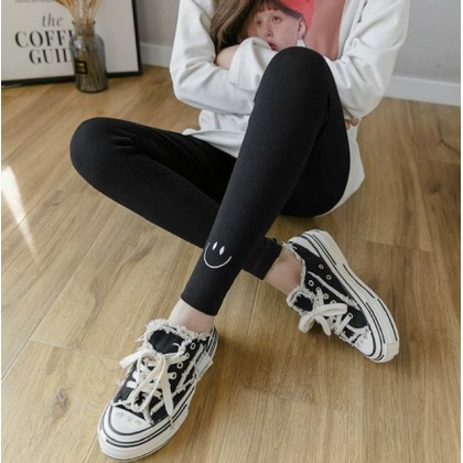 Maternity Cotton Legging - Smile Legging Black