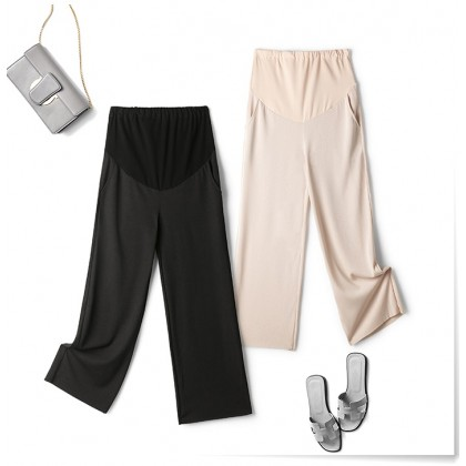 Maternity Pants - Working Soft Black or Beige