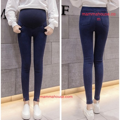 Maternity Jeans - Skinny Flag Black or Dark Blue