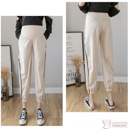 Maternity Pants -Sport Black or Cream