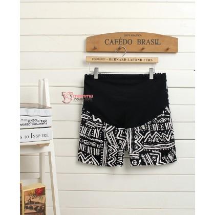 Maternity Shorts - Myth Shorts Black