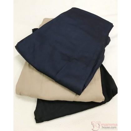 Maternity Pants - Working Long Khaki (S~XXL)