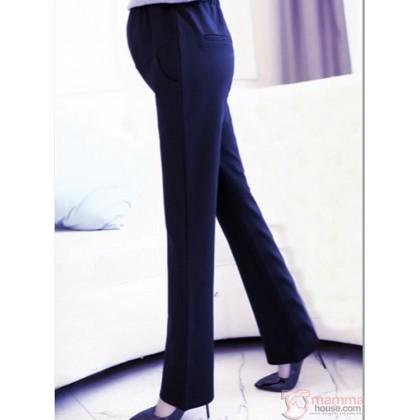 Maternity Pants - Working Trumpet Dark Blue