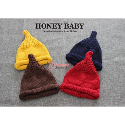 Baby Hat - Cute Knitted Pointy (4 colors)