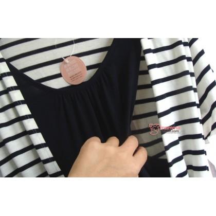 Nursing Tops - JP V Stripe (2 colors)