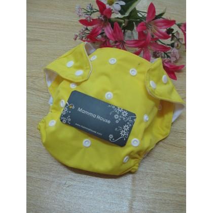 Baby Washable Diaper - Yellow