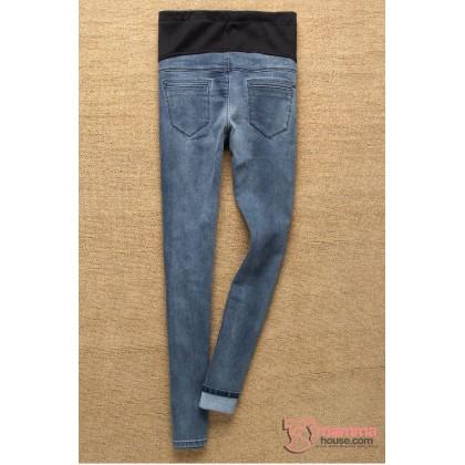 Maternity Jeans - Style Black Grey
